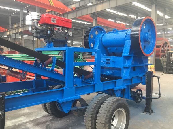 Mobile Jaw Crusher Line