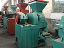 Briquette shaping machine